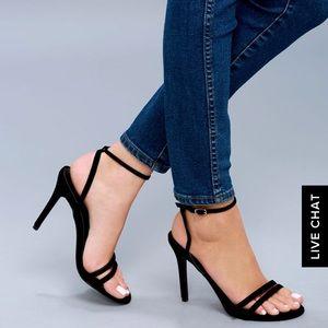 🆕 Black Velvet Heels